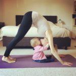 Mama and Baby Yoga Routine