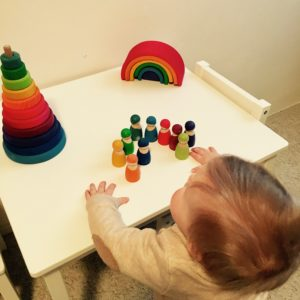 Columns by KariGrimms Wooden Toys Rainbow
