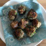 Homemade broccoli and mushroom  balls (vegan!)