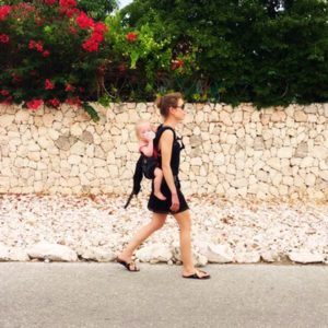 Columns by Kari Calvin Klein Beach Lookbook