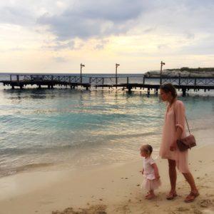 Columns by Kari Karl Lagerfeld Beach Lookbook