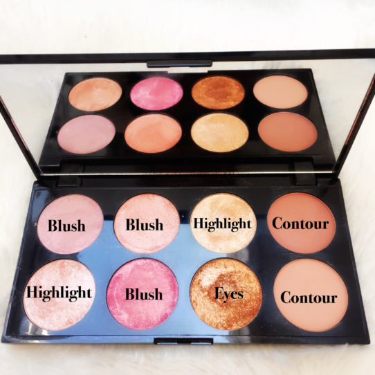 Columns by Kari Make-up Revolution Golden Sugar Palette 9
