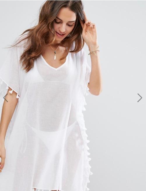 Seafolly beach dress asos