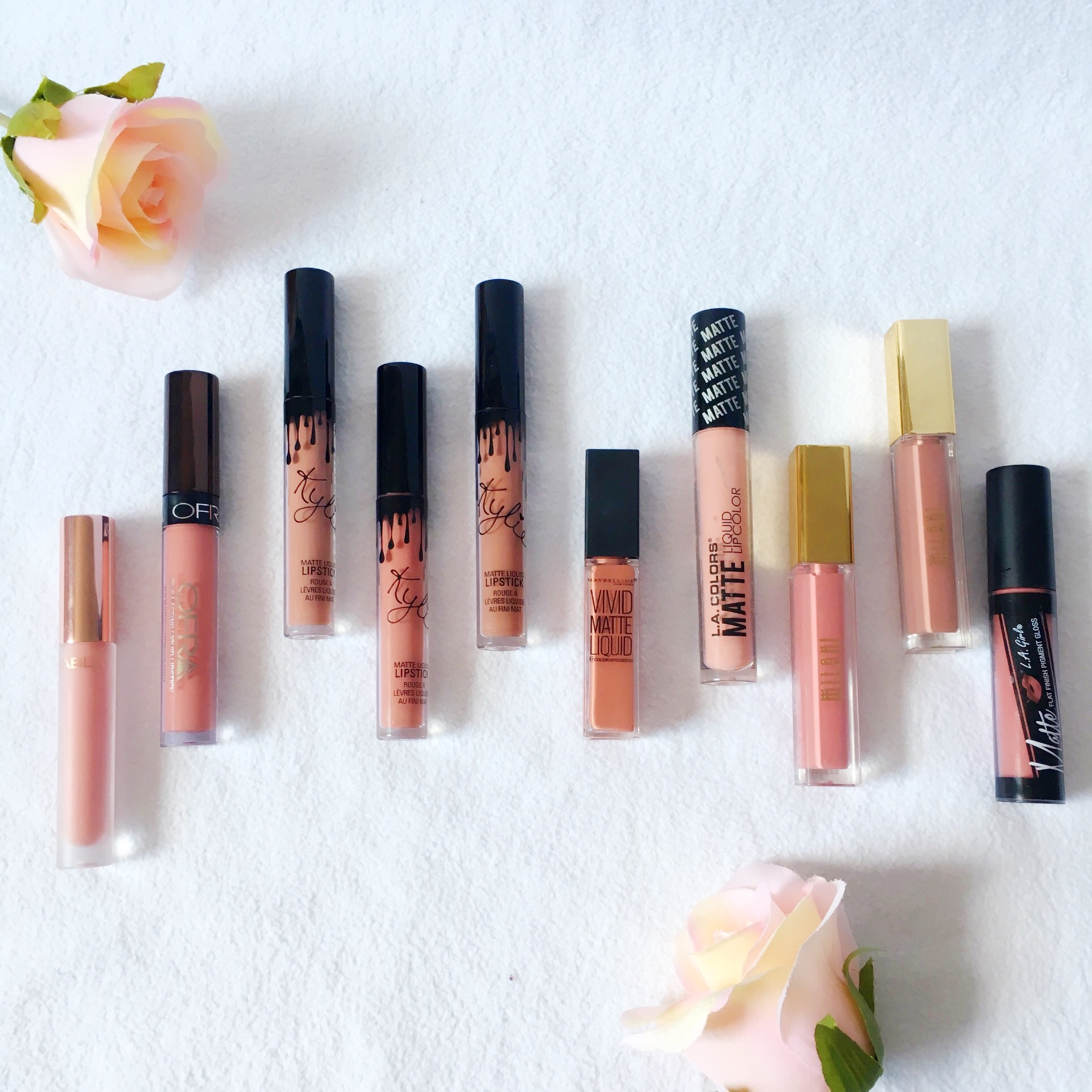 Nude Liquid Lipsticks