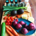 2 Heerlijke veganistische salades in een handomdraai op tafel