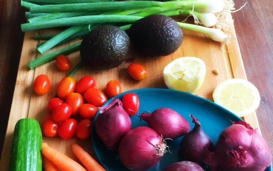 veganistische salades