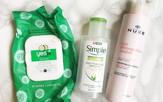 Empties Cleansing products