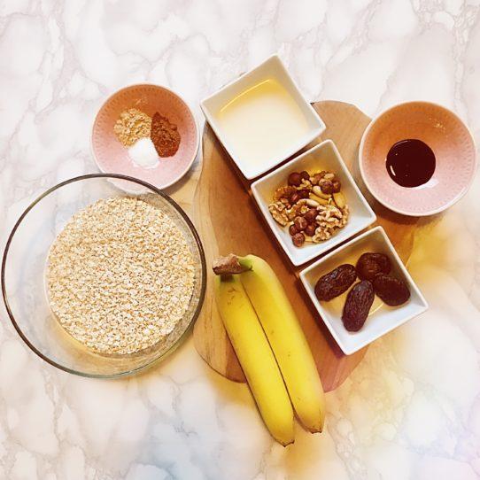 Vegan Breakfast Bars