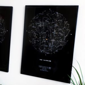 Birthday Star Map.When All The Stars Aligned A Starmap As The Perfect Gift