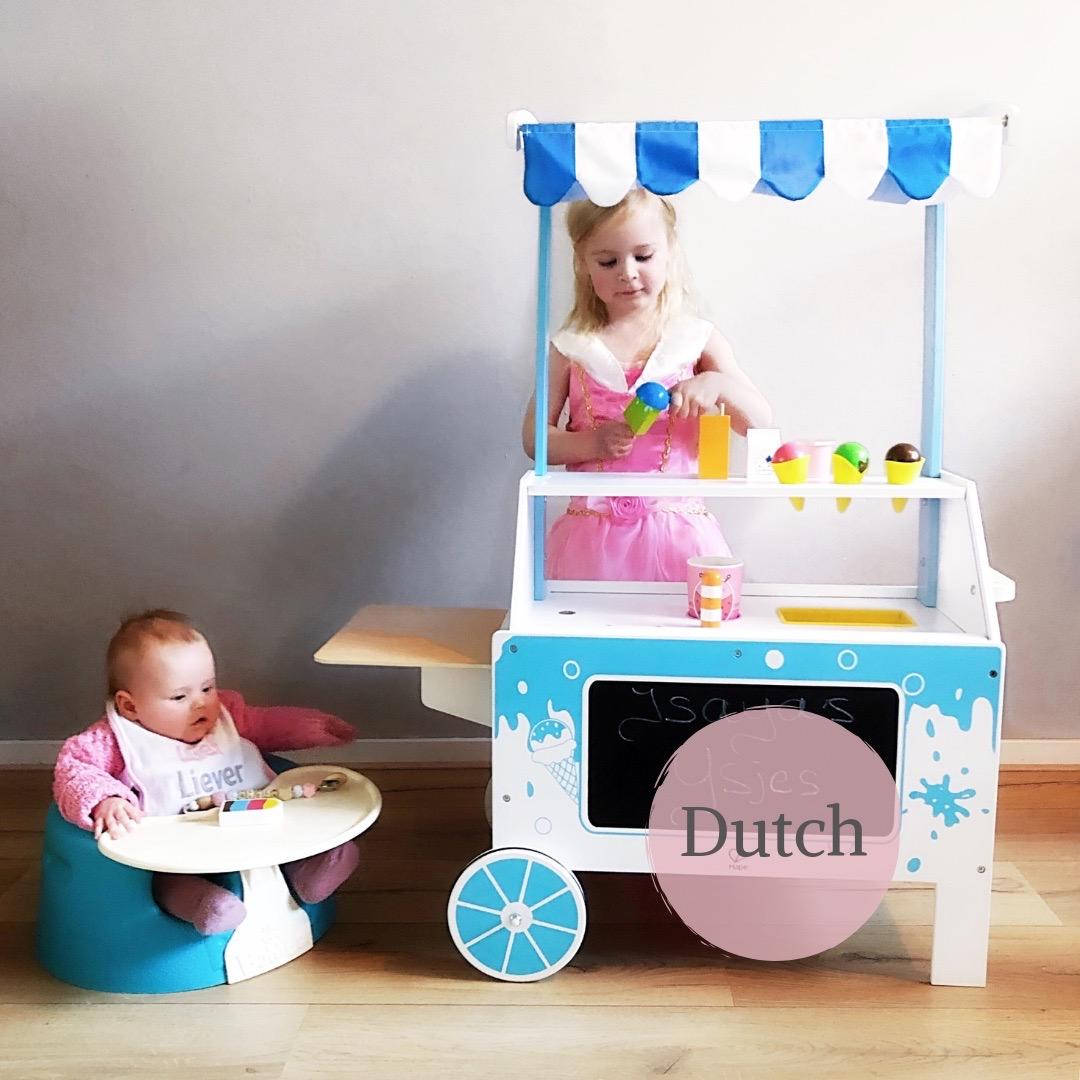 Duurzaam Speelgoed Van Hape De Houten Ijskraam